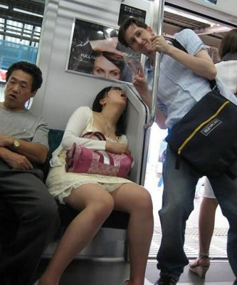 Subway Sleeping - Easy Flip Frames