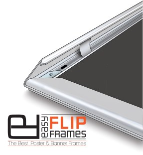 Easy Frames for poster change, Aluminum Poster Frames Easy Flip Frames, Snap Frames, Aluminum Snap Frames, Flip Up Frames