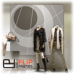 Frameless Banner Frame, Sleek Picture Frame