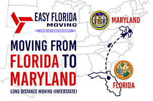 Moving from Florida to Maryland