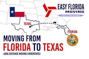 moving From Florida to Texas