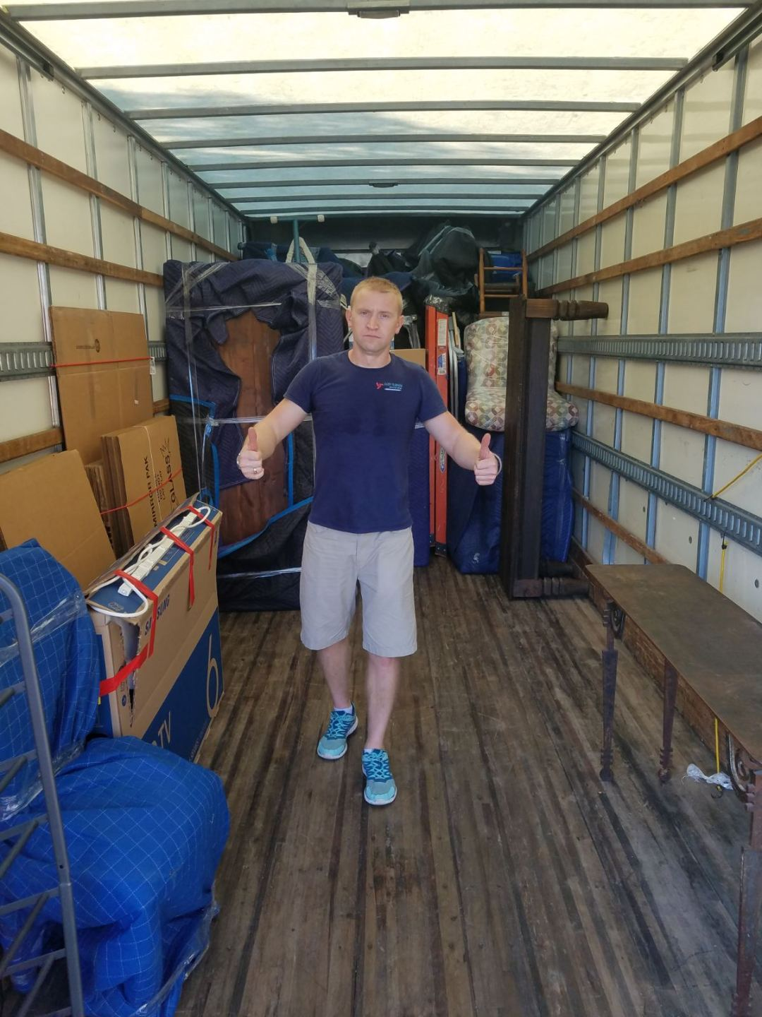 Loading Truck Easy Florida Moving