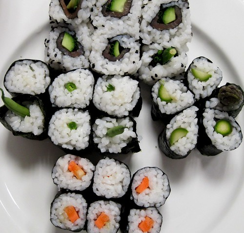 OSHINKO SUSHI ROLL RECIPE