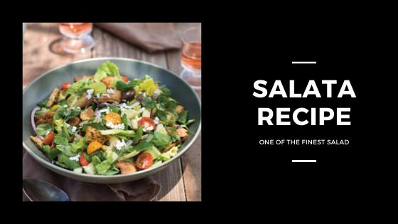 Simple Salata Recipe