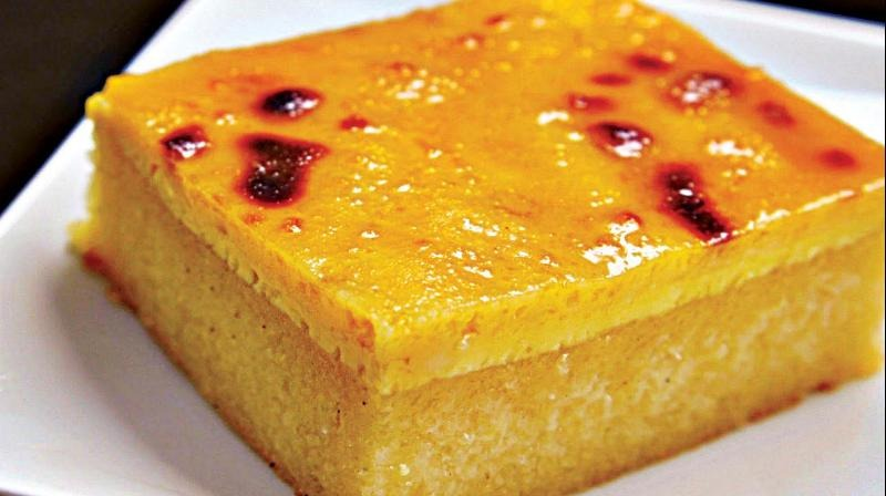 how to make a cassava cake