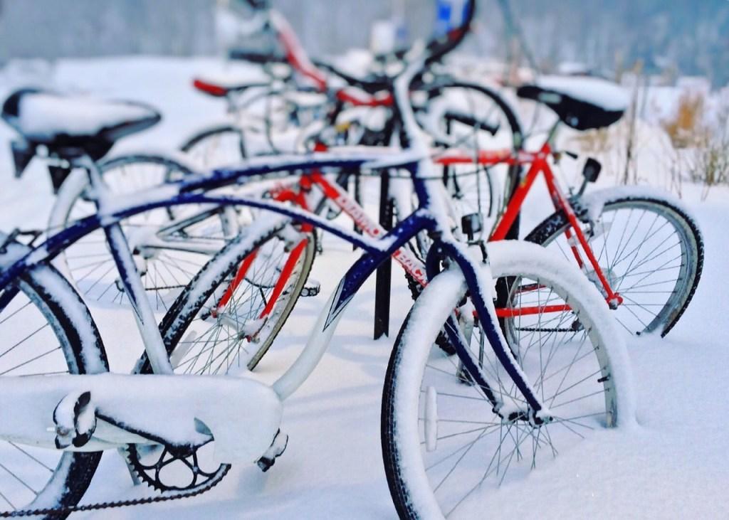 Fahrrad Winter