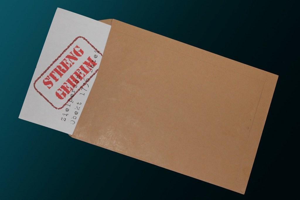 Umschlag mit Brief