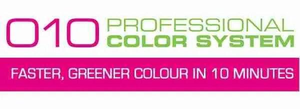 010plus -10 minute hair colour - colour chart image