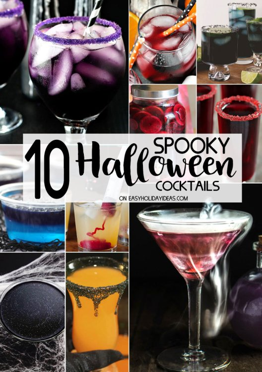 Spooky Halloween Cocktails