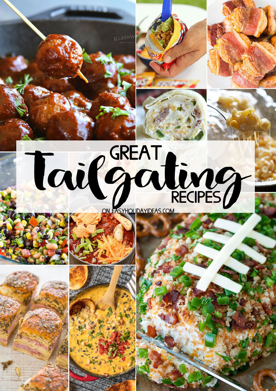 Great Tailgating Recipes for your football party!
