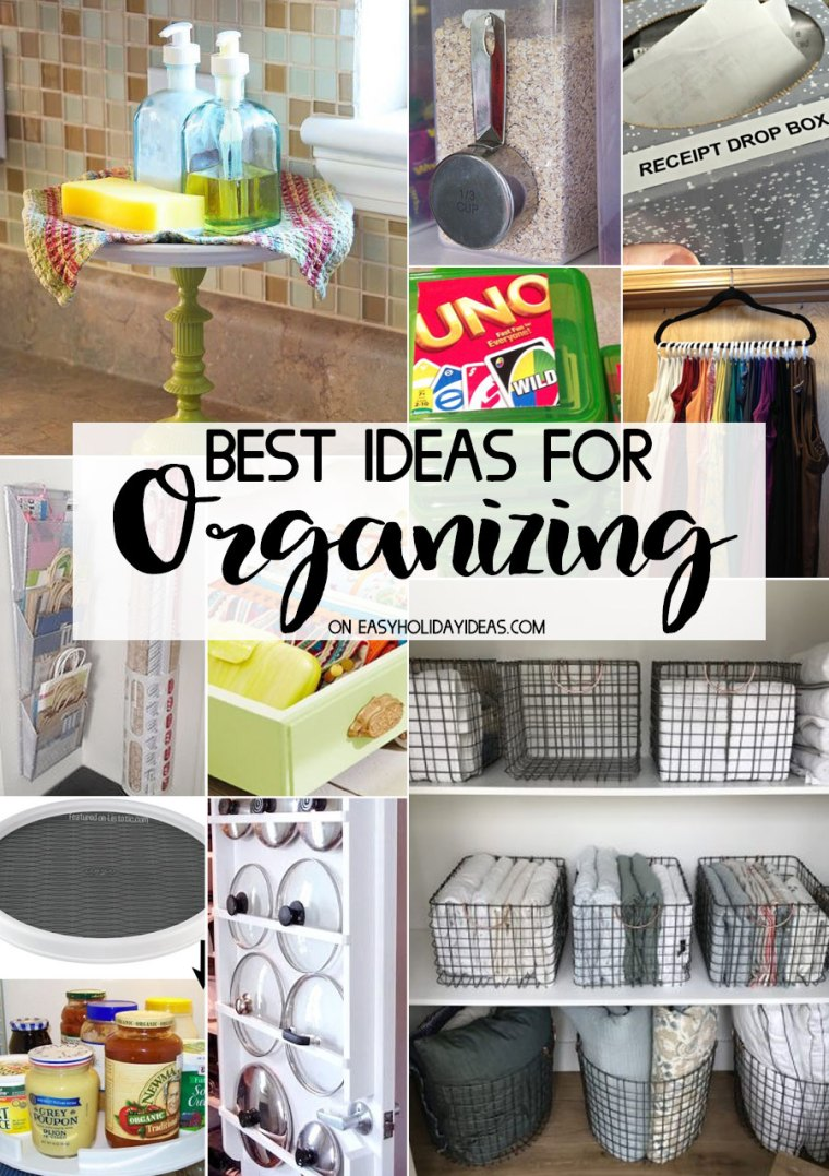 Best Organizing Ideas