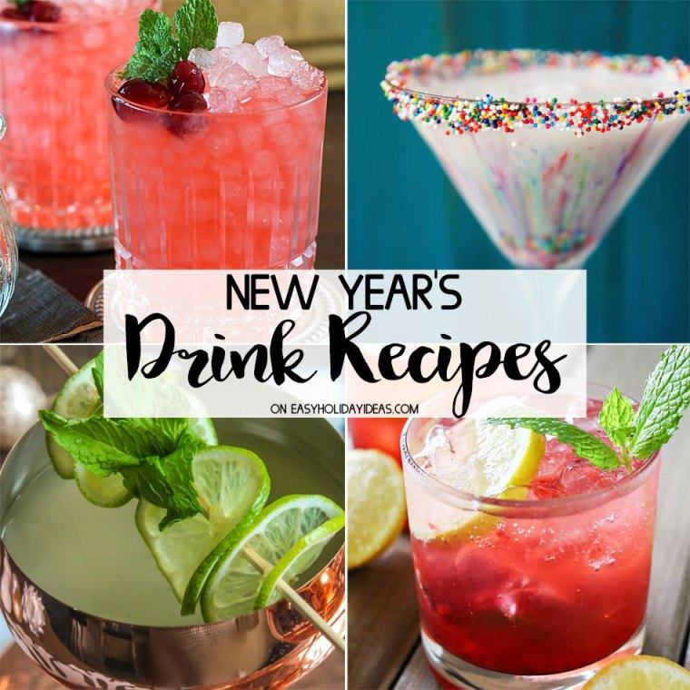 New Years Drink Recipes