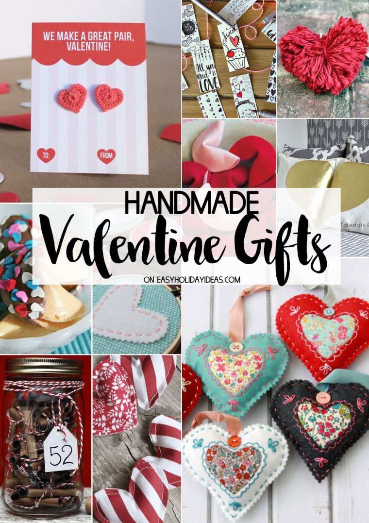 Handmade Valentine Gifts Easy Holiday Ideas