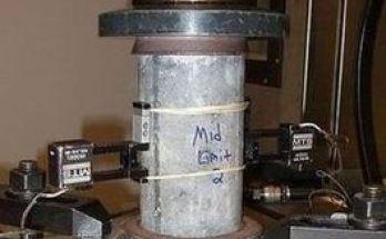 Concrete compressive strength
