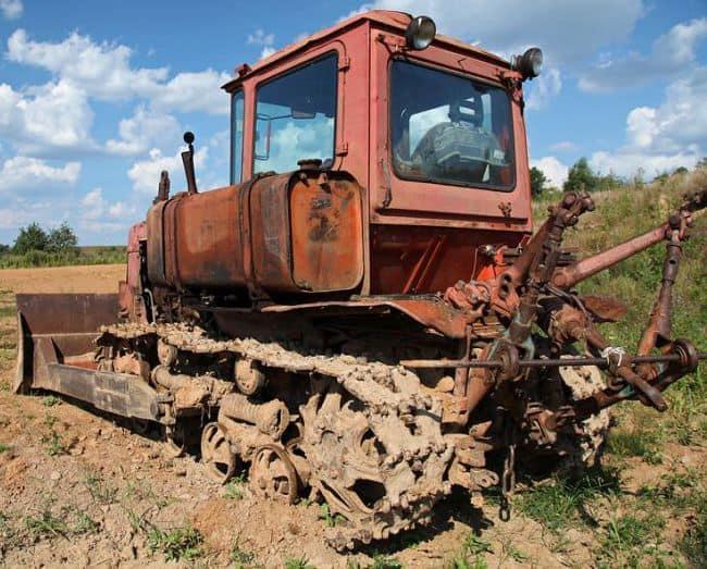earthwork equipment-crawler tractor