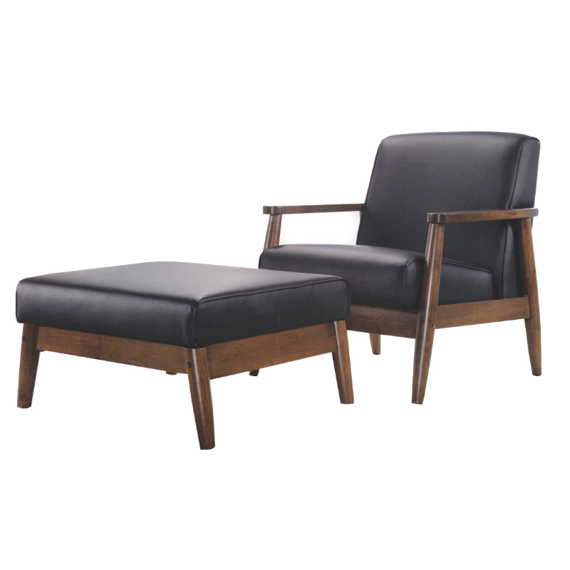 Easyhouse Don Vito Single Seater With Leg Rest Stool