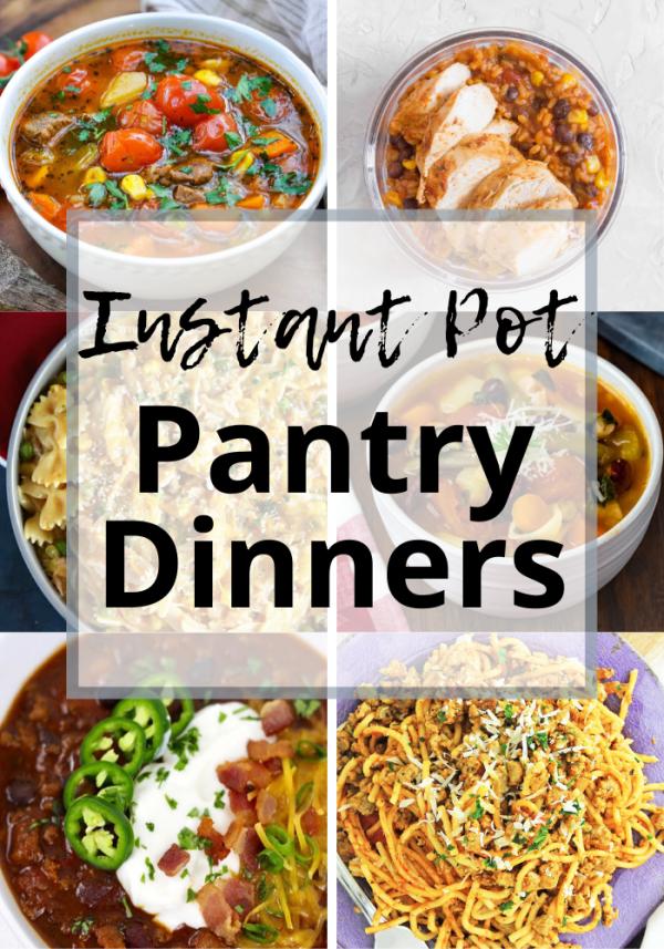 Instant pot pantry meals