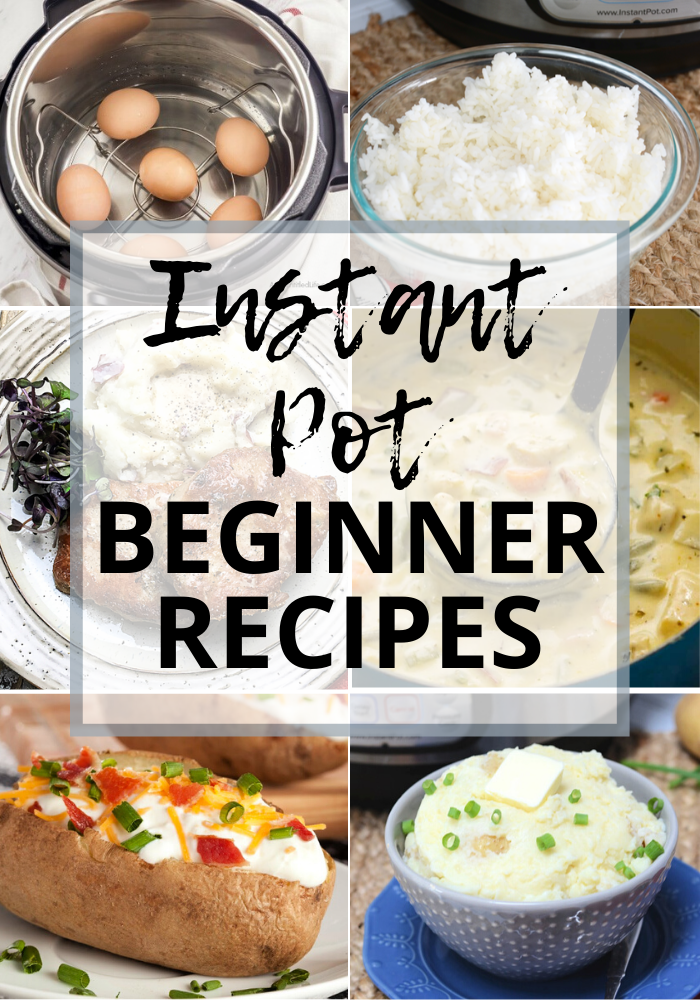 """Featured image for """"Best Instant Pot Recipes for Beginners"""""""