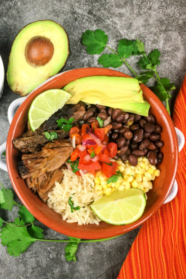 Instant Pot Carnitas Bowl