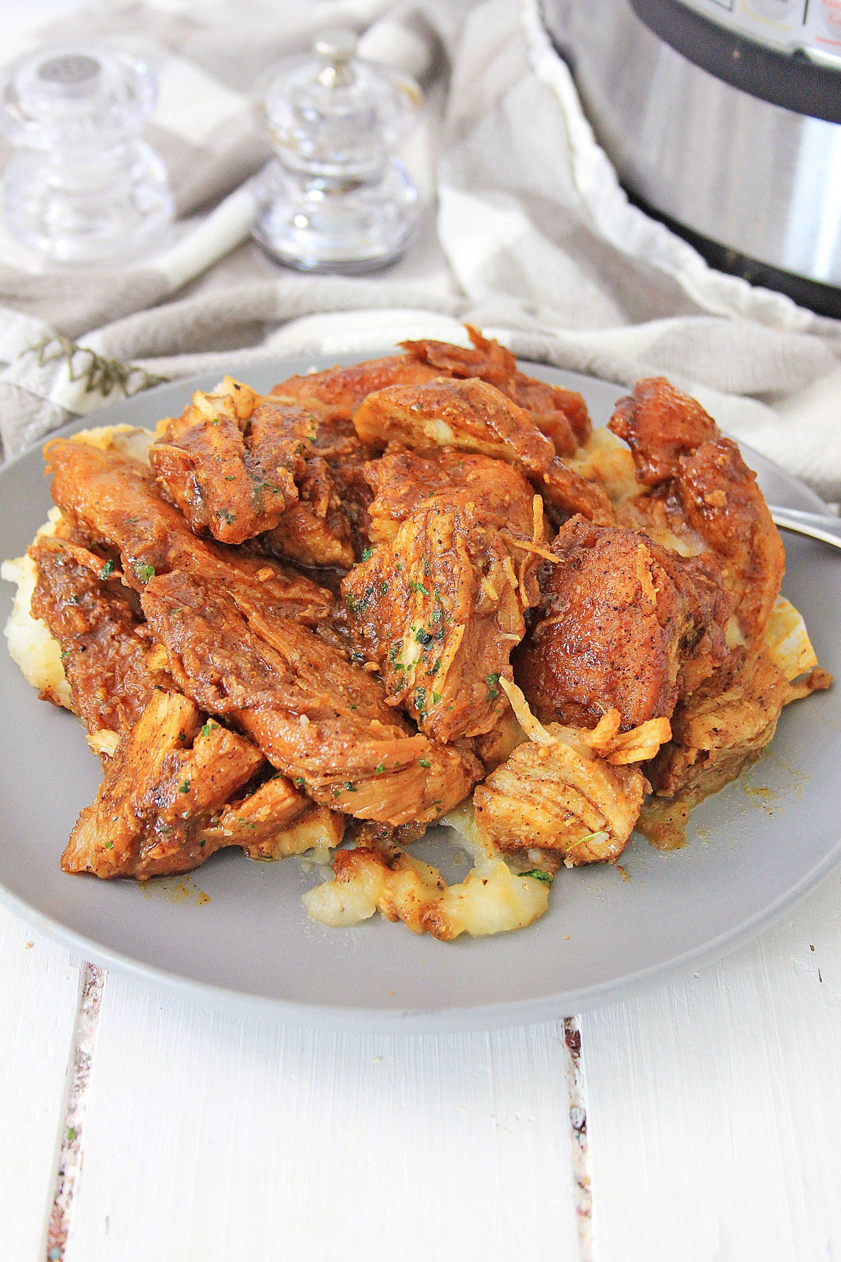 "Featured image for ""Instant Pot Garlic Brown Sugar Chicken"""