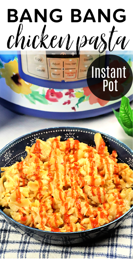 Instant Pot bang bang chicken pasta