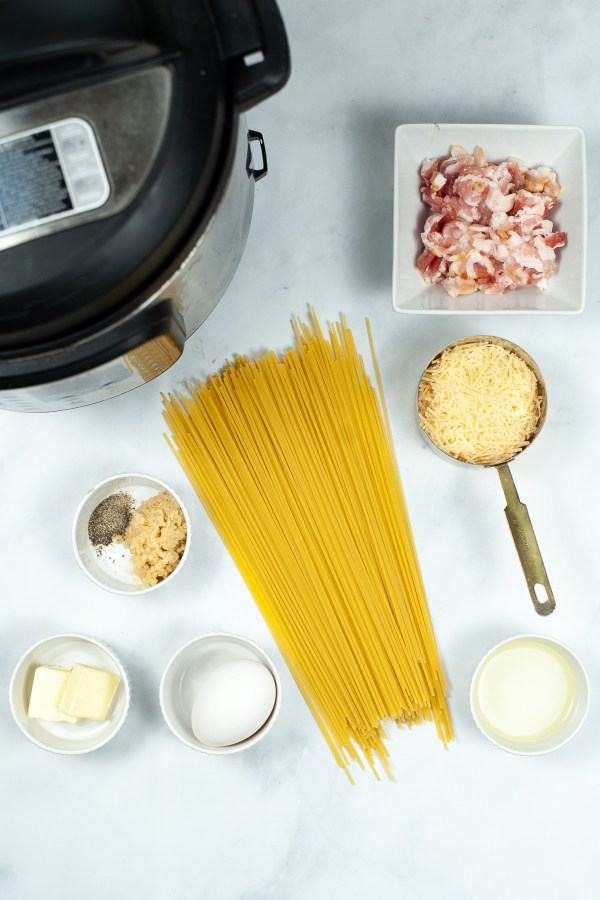 How to make bacon carbonara in the Instant Pot (1)