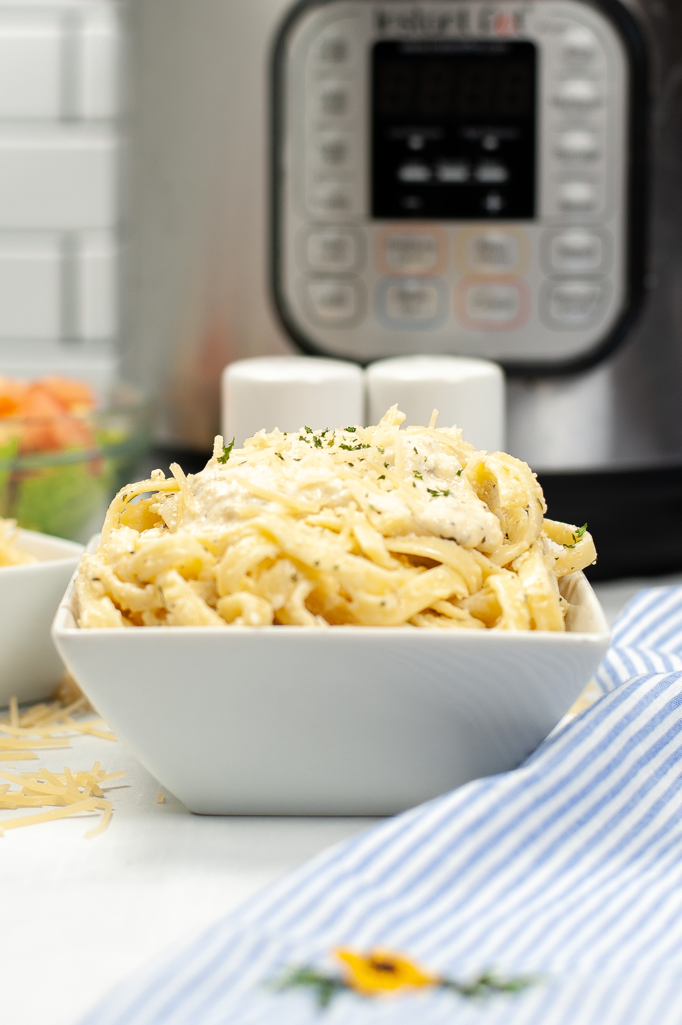 """Featured image for """"Instant Pot Fettuccine Alfredo"""""""