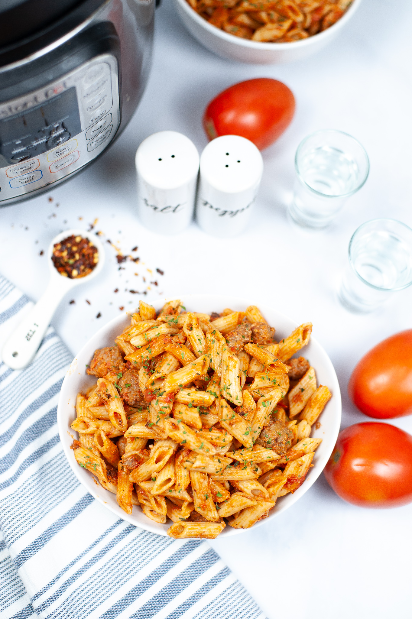 """Featured image for """"Instant Pot Vodka Penne"""""""