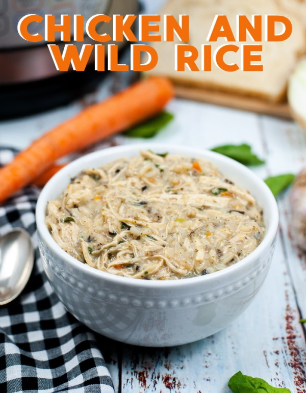 How to make copycat Panera chicken and wild rice soup in your Instant Pot. Stove top instructions included too