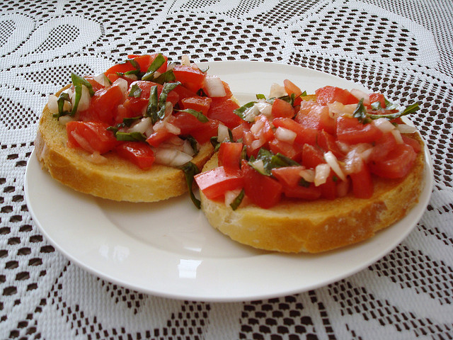 Italian Bruschetta Recipe Easy Italian Recipes