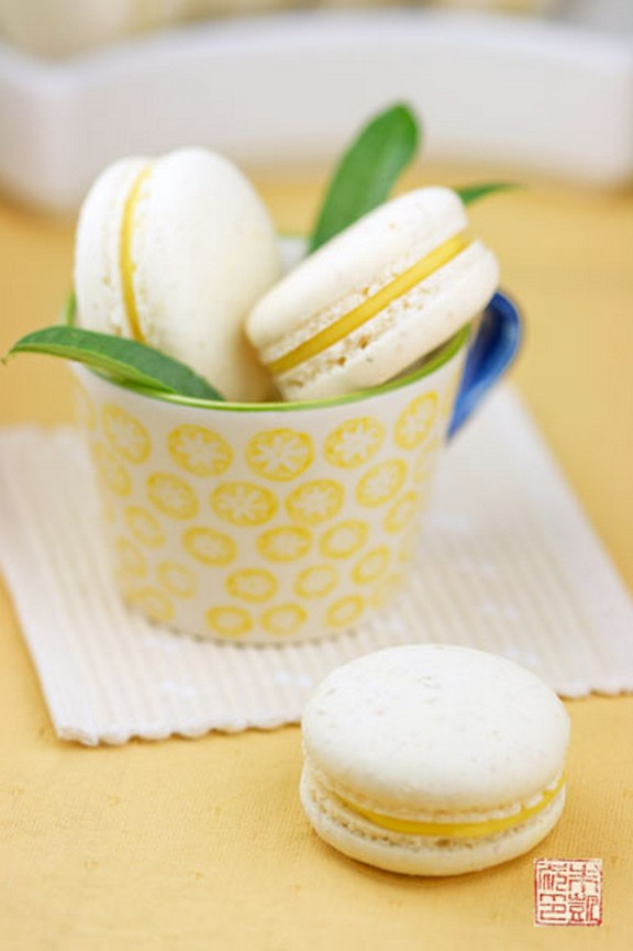 Italian Meringue Macarons recipe photo