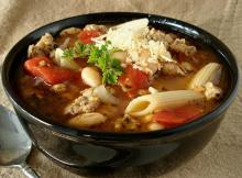 Italian Pasta and Bean Soup Recipe