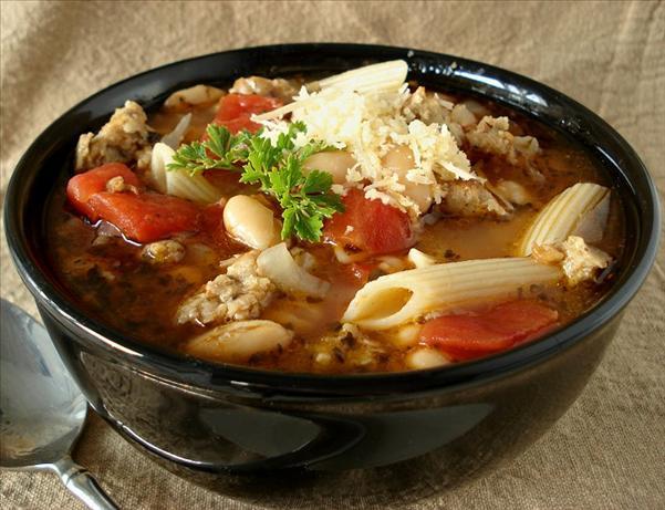 Italian Pasta and Bean Soup Recipe