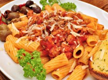 Italian Rigatoni with Cheese and Sausage Recipe