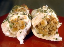 Italian Stuffed Chicken Breasts Recipe