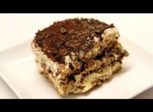 Chocolate Coffee Tiramisu - Italian Recipe (VIDEO)