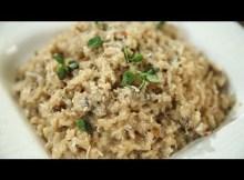 How To Make Mushroom Risotto - Italian Recipe - Perfect Mushroom Risotto (VIDEO)
