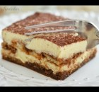 Italian Tiramisu Recipe - Easy Makeahead Dessert with Espresso and Mascarpone (VIDEO)