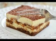 Italian Tiramisu Recipe - Easy Makeahead Dessert with Espresso and Mascarpone (VIDEO)