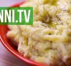 Mashed Potatoes with Garlic and Olive Oil, Italian Recipe (VIDEO)