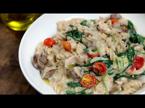 One pot chicken pasta recipe pasta recipes italian recipes one pot chicken pasta recipe pasta recipes italian recipes quick pasta recipe video easy italian recipes forumfinder Choice Image