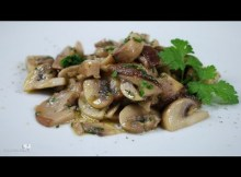 Sauteed Mushrooms - traditional Italian recipe (VIDEO)