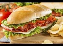 Wie man ein Sub Sandwich macht - Wie man italienische Subs Sandwich (RUBIN KÜCHE) (VIDEO)