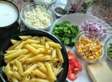 Weiße Soße Pasta Rezept - Pasta in weißer Soße - Cheesy White Pasta - Italienische Rezepte mit indischen Stil (VIDEO)