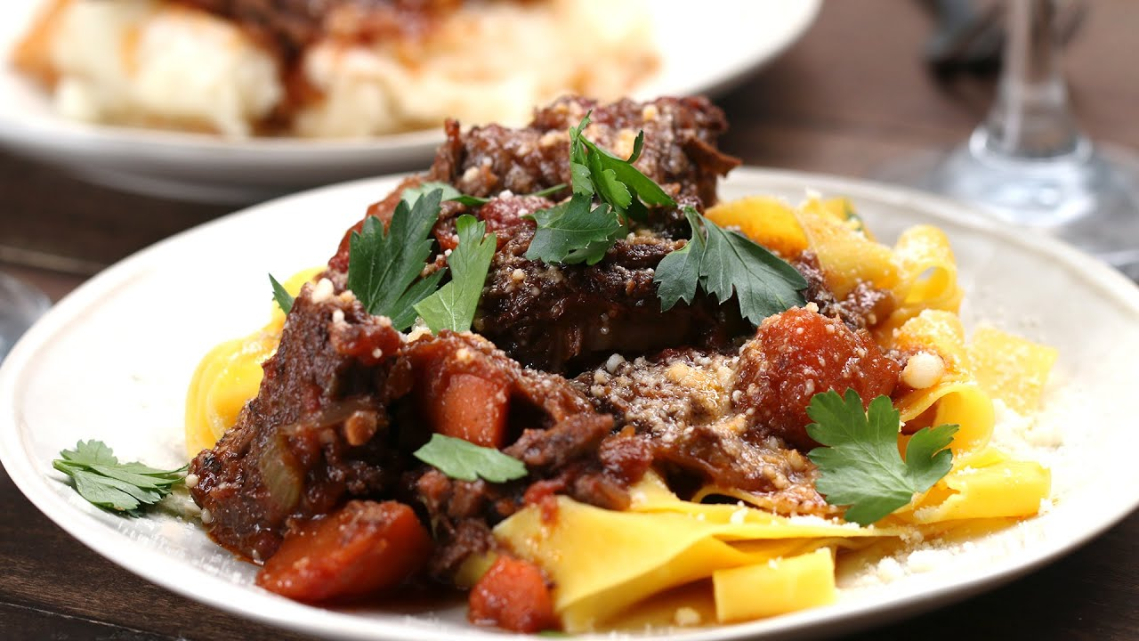 Braised Short Rib Ragu (VIDEO)