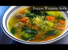 Einfache italienische Hochzeit Suppe Rezept (VIDEO)