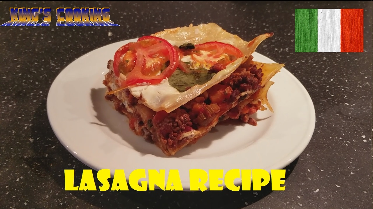 Italian Lasagna Recipe (VIDEO)