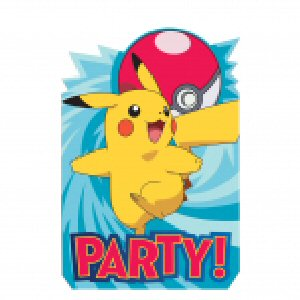 8 cartes d invitation pokemon 2