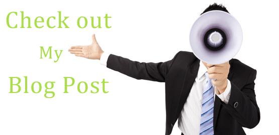 blog promotion tips