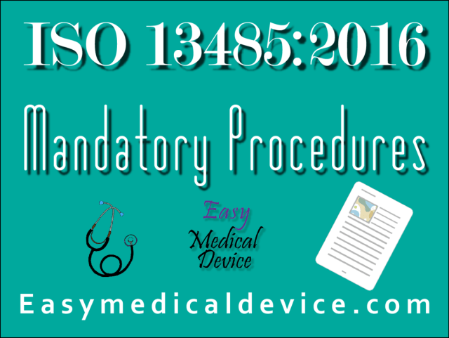Best Tips Iso 13485 Procedures With Our Free Template Ver 2016